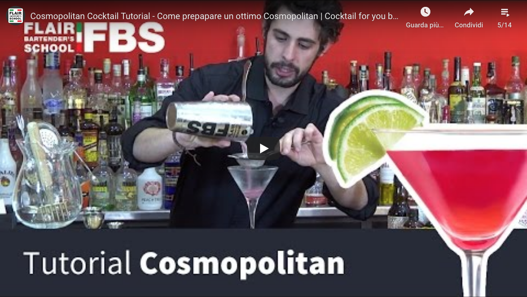 Tutorial Cosmopolitan cocktail – Come preparare un ottimo Cosmopolitan