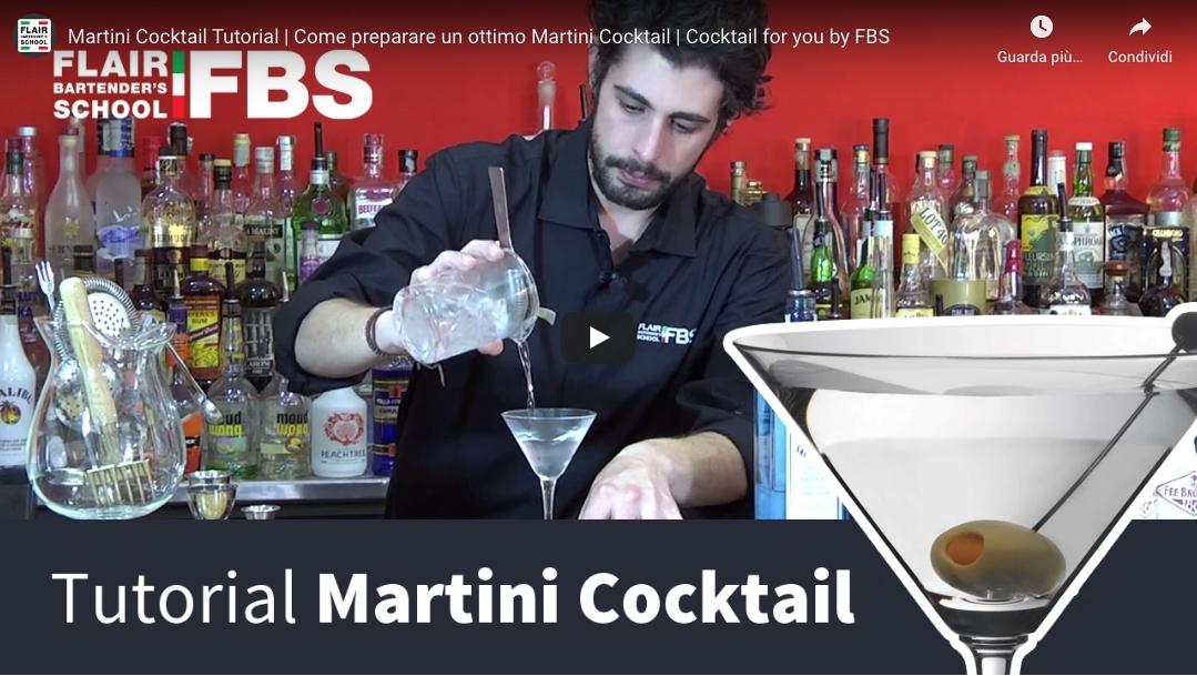 Tutorial Martini cocktail – Ecco come preparare un ottimo Martini cocktail