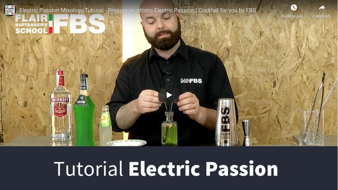 Tutorial electric passion cocktail – Ecco come preparare un ottimo Electric passion