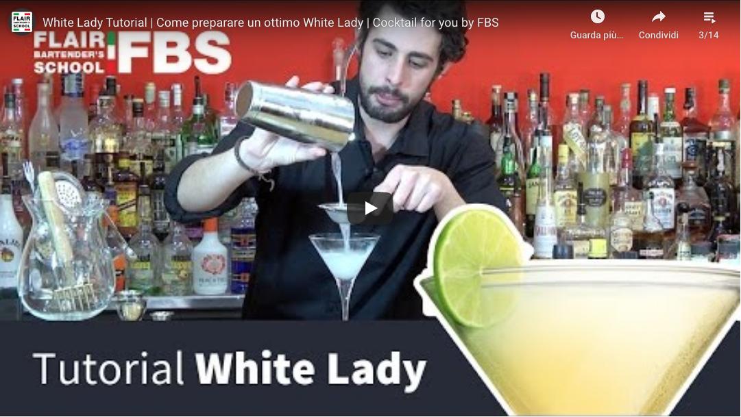 Tutorial White lady cocktail – Ecco come preparare un ottimo White lady