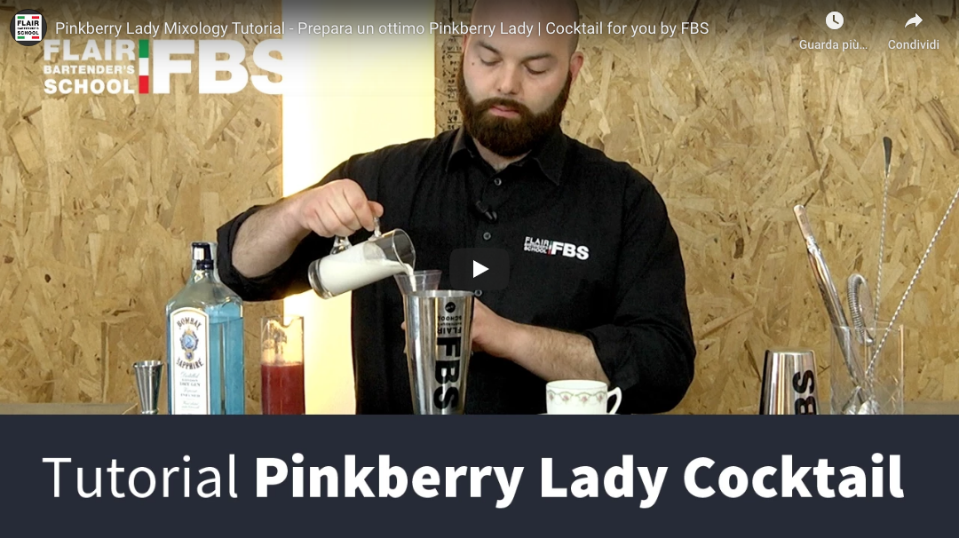 Tutorial Pinkberry Lady cocktail – Prepara un ottimo Pinkberry Lady