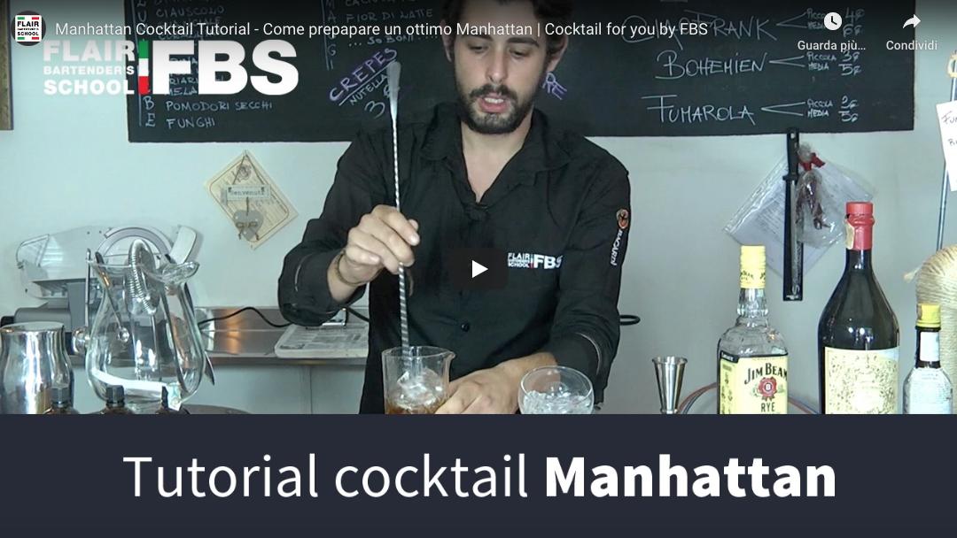 Ricetta Manhattan – Imparalo anche tu in soli 2 minuti