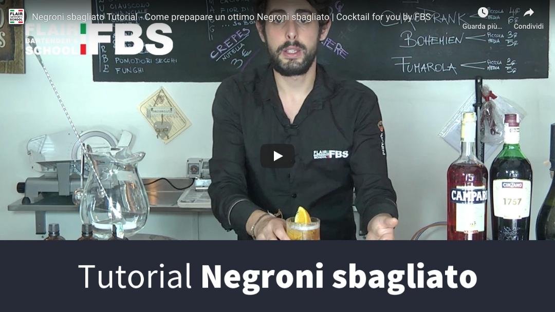 Ricetta Negroni sbagliato – Impara la ricetta del Negroni sbagliato