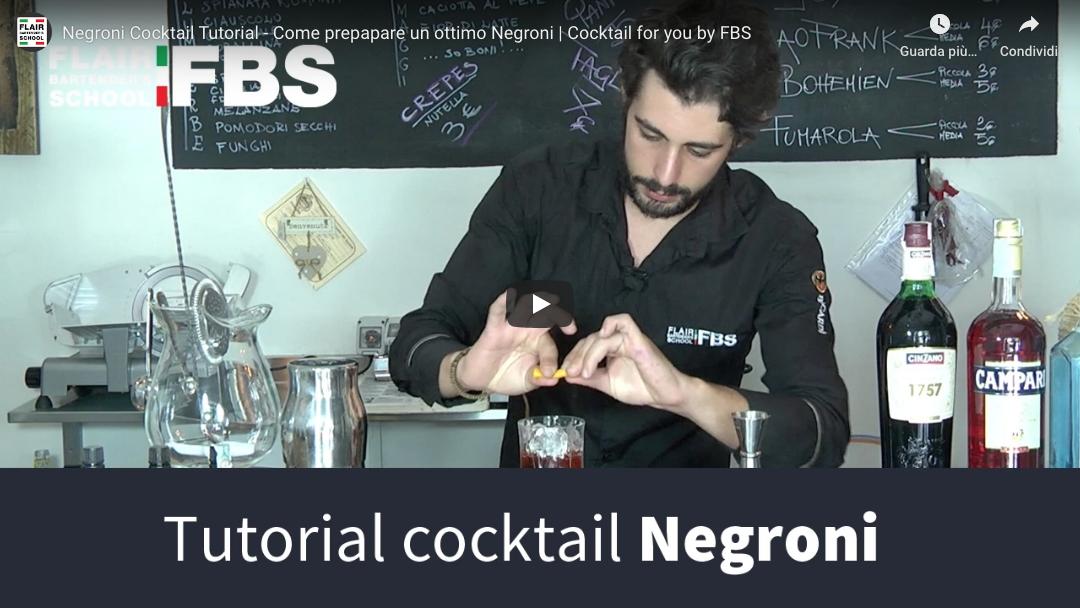 Ricetta Negroni – Impara la ricetta del Negroni in soli 2 minuti