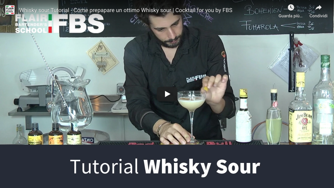 Ricetta Whisky sour – Impara la ricetta del Whisky sour
