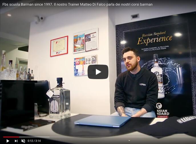 Come diventare barman professionista: intervista a Matteo Di Falco, trainer di FBS