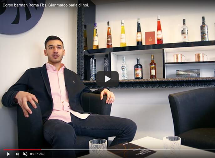 Frequentare un corso da bartender, intervista a Gianmarco, ex corsista FBS